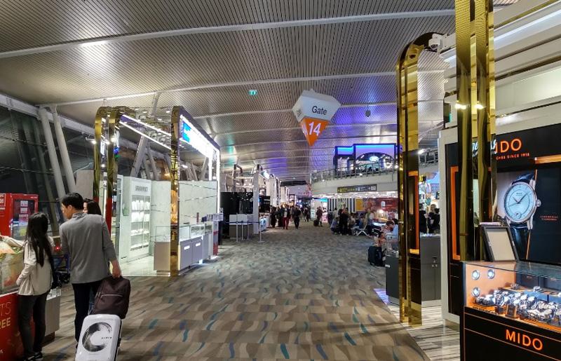Четвертый этаж аэропорта Пхукет