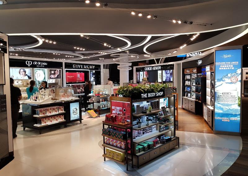 Магазины Дюти Фрии в аэропорту Пхукет
