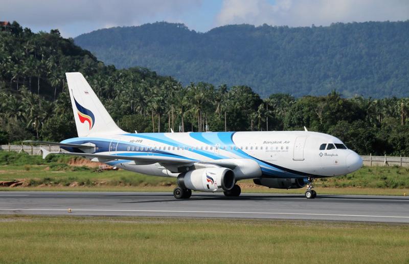 Самолет компании Bangkok Airways