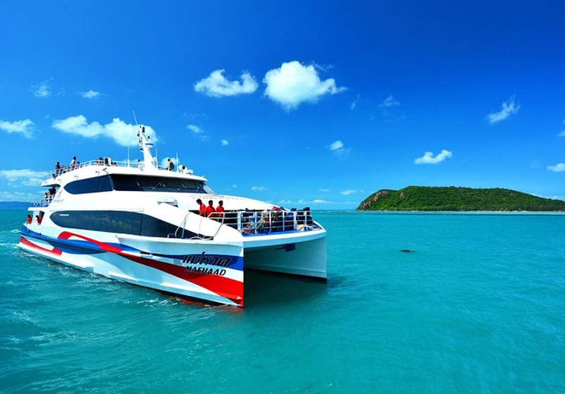 Скоростной катамаран на остров Самуи