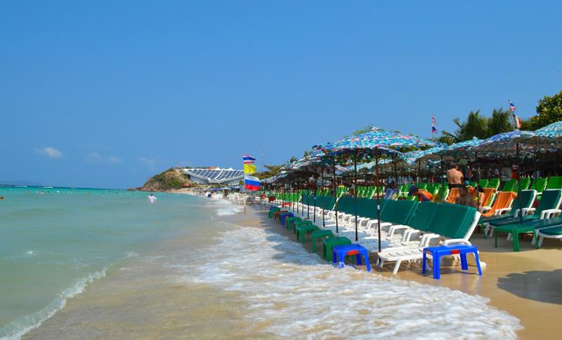 Пляжи Ко Лана Паттайя