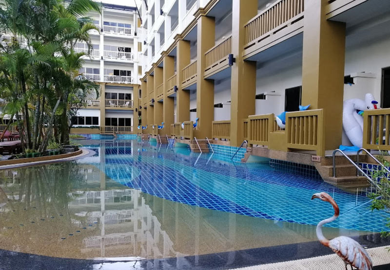 Территория отеля kata sea breeze resort 3