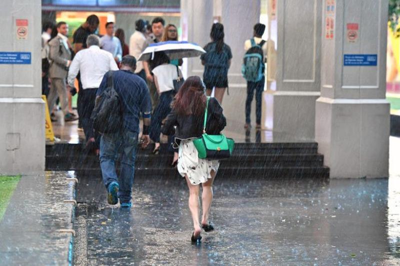 Дожди в Сингапуре в декабре