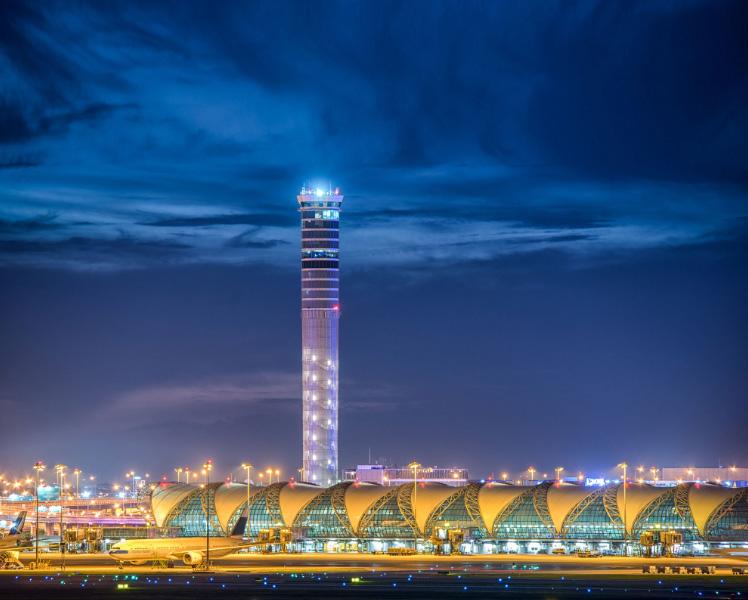 Башня аэропорта Суварнабхуми