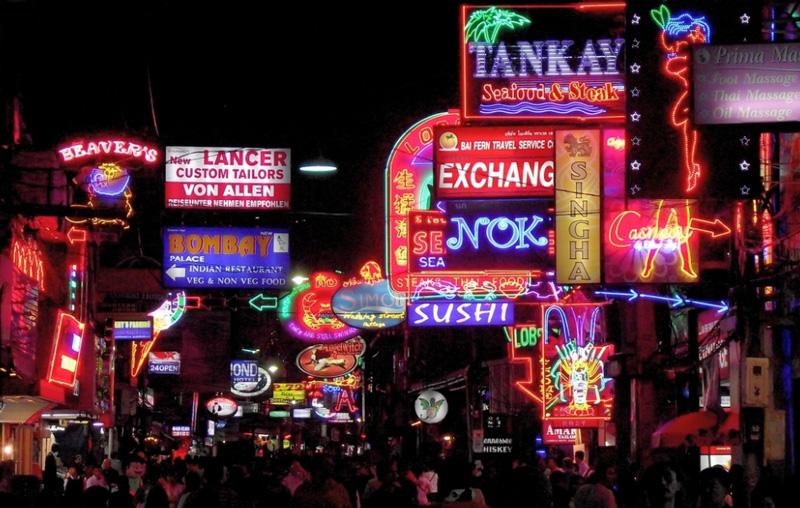 Walking street в Таиланде