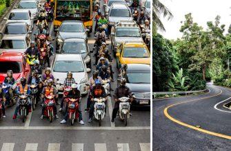 Движение в тайланде - нюансы, правила ПДД, советы туристам