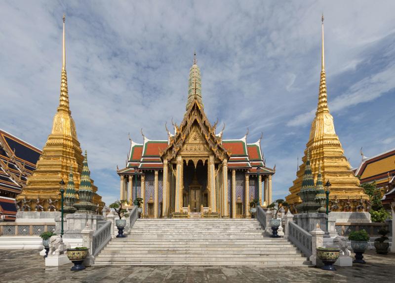 Prasat Phra Thep Bidon, Пантеон