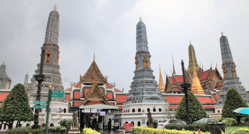 Wat Phra Kaew, храм Изумрудного Будды