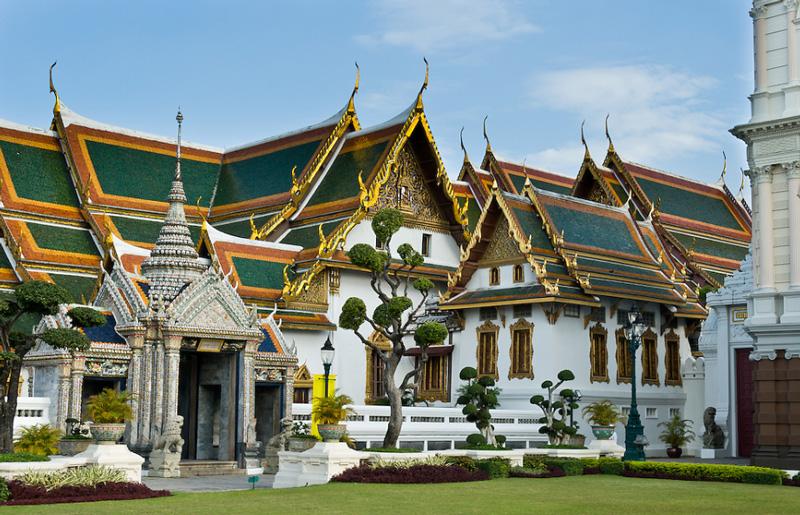 Phra Maha Monthien Group. Королевские покои