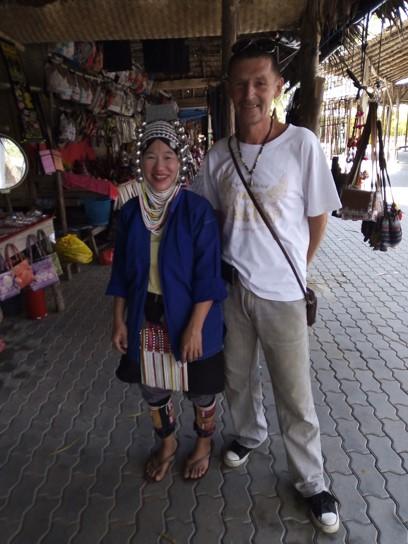 Представители малых народностей Таиланда Акха