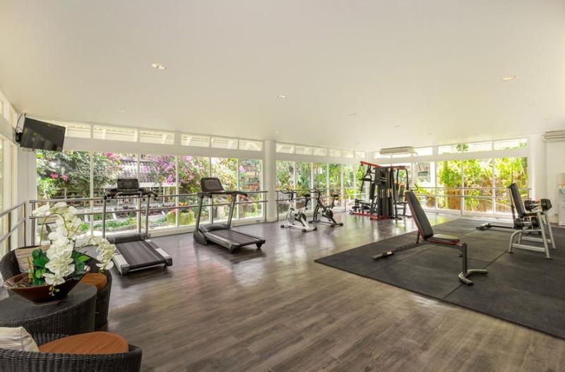 Спортивный зал в отеле Thavorn Palm Beach Resort
