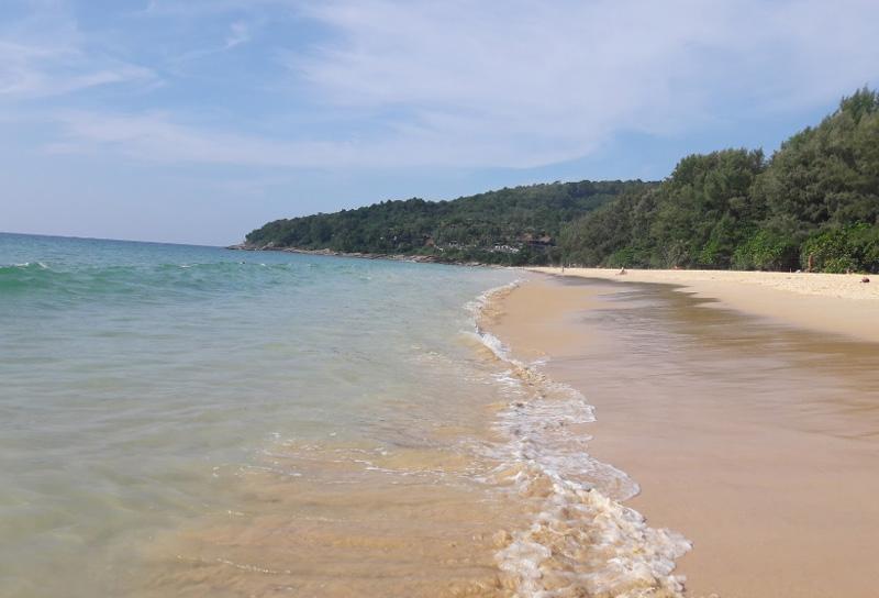 Пляж Найтон Пхукет