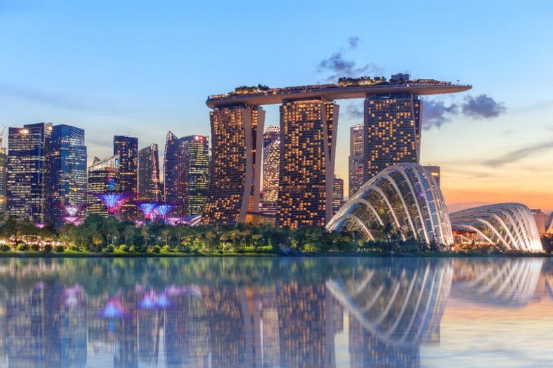 Сингапуре в феврале