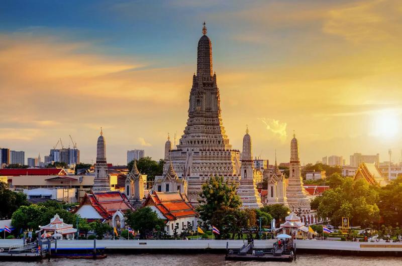 Разница во времени в Бангкоке и Москве