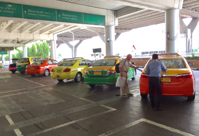 Такси Бангкок-Паттайя из аэропорта Дон Мыанг