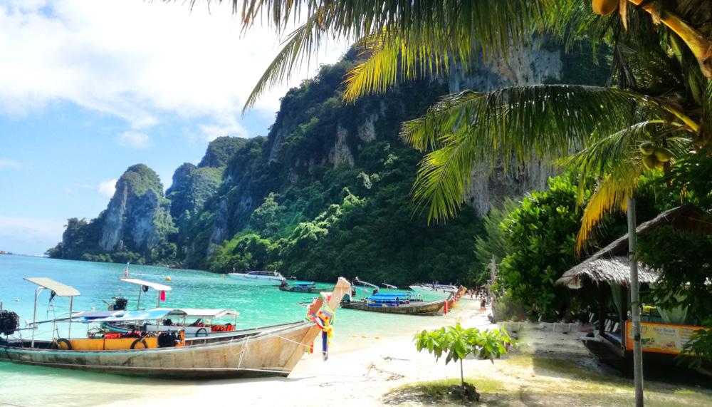 Впервые в Тайланде