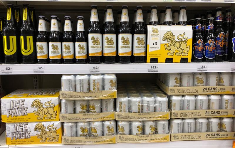 Тайское Пиво Singha Сингха