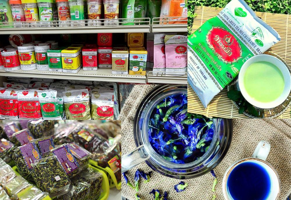 Чай из Тайланда можно привезти в качестве подарка.