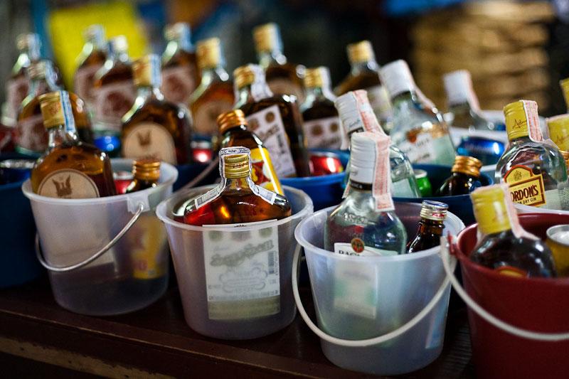Алкоголь из Тайланда.