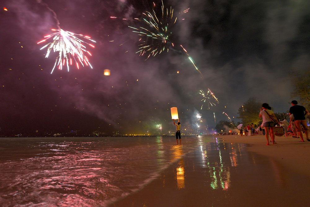 Новый год на Патонге